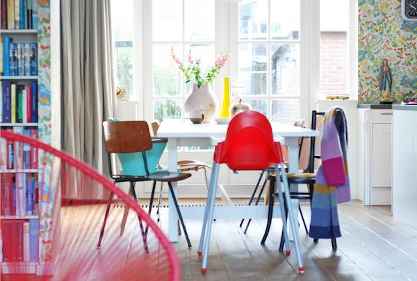 decoración-estilo-vintage-color-ecléctico